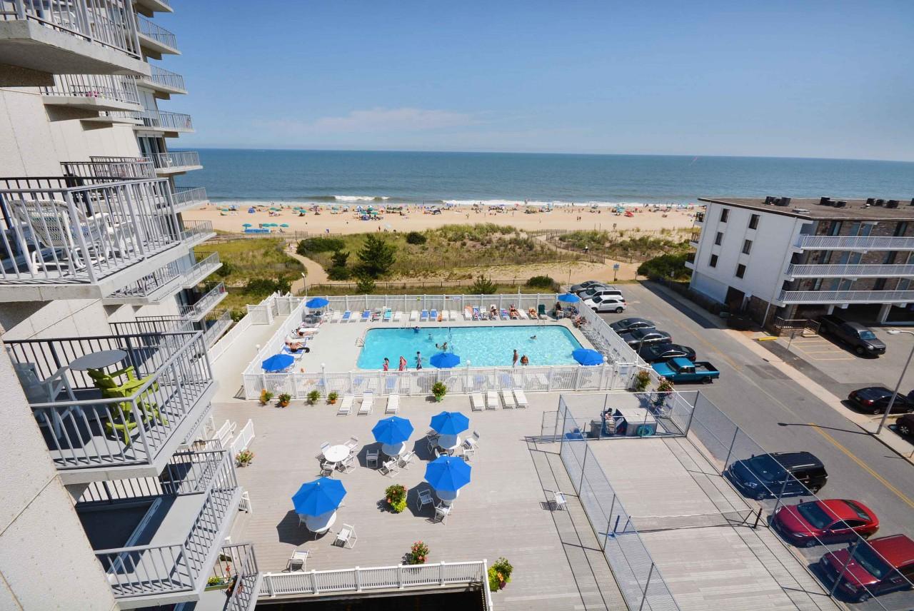 Sea Terrace 606 Ocean City Rentals Vacation Rentals In